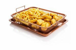 Copper Crisper - Grillkorb für den Backofen, 2-tlg.