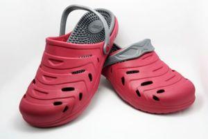 happy® shoes Clogs Massage-Wohlfühl-Schuh, rot (Größe: 40)