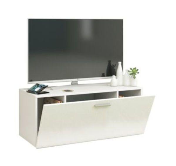 Vcm Tv Wand Board Fernsehtisch Lowboard Wohnwand Regal Wandschrank Schrank Tisch Hängend Fernso Vcm Tv Wand Lowboard Fernso Farbe B 95cm Weiß