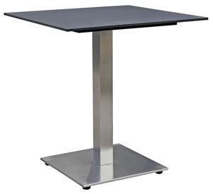 METRO Professional Tisch Milano 70 x 70 cm Schwarz
