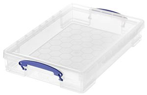 Really Useful Products Aufbewahrungsbox 10 l Transparent