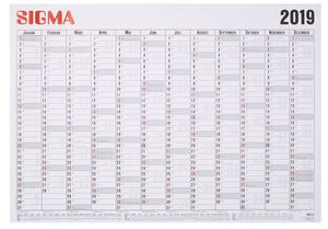 Sigma Plakatkalender 2019