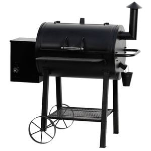 Tarrington House Pelletgrill Smoker Schwarz