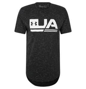 UNDER ARMOUR             T-Shirt, Loose Fit, feuchtigkeitsregulierend, Logo-Print, für Herren