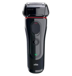 """Braun             Rasierer """"5-5030s+EN10"""", Akku, FlexMotion Tec, Micro-/Macromotion, Schnellladung, Mitteltrimmer, Präzisionstrimmer, 100 % wasserfest, inkl. Nasenhaarschneider"""