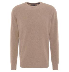 Rover & Lakes             Pullover, reiner Cashmere, Rundhalsausschnitt, Modern Fit, 260046