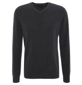 Rover & Lakes             Pullover, reiner Cashmere, V-Ausschnitt, Modern Fit, 260046