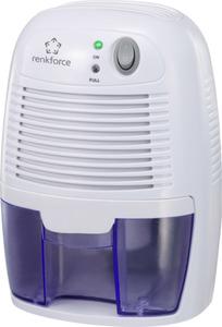 Renkforce HD-68W Luftentfeuchter 20 m² 0.011 l/h Weiß, Blau