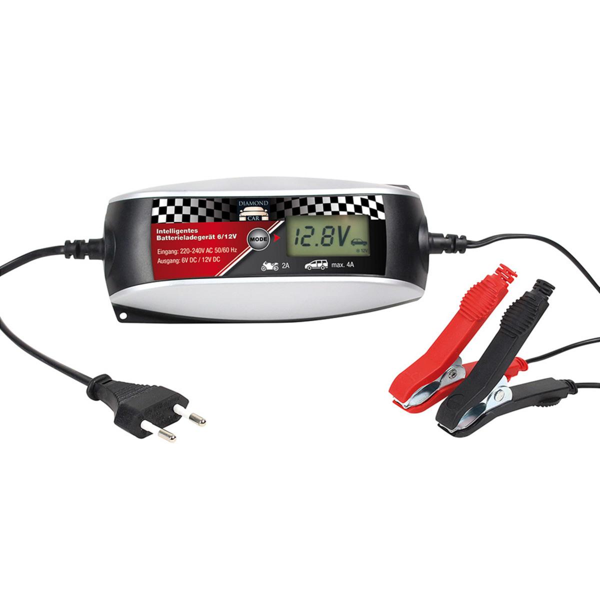 Bild 1 von Diamond Car Intelligentes Batterie-Ladegerät 6/12V, 4 A