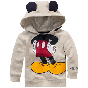 Micky Maus Sweatshirt mit Ohren-Applikation