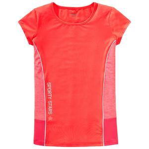 Mädchen Sport-T-Shirt im Neon-Look