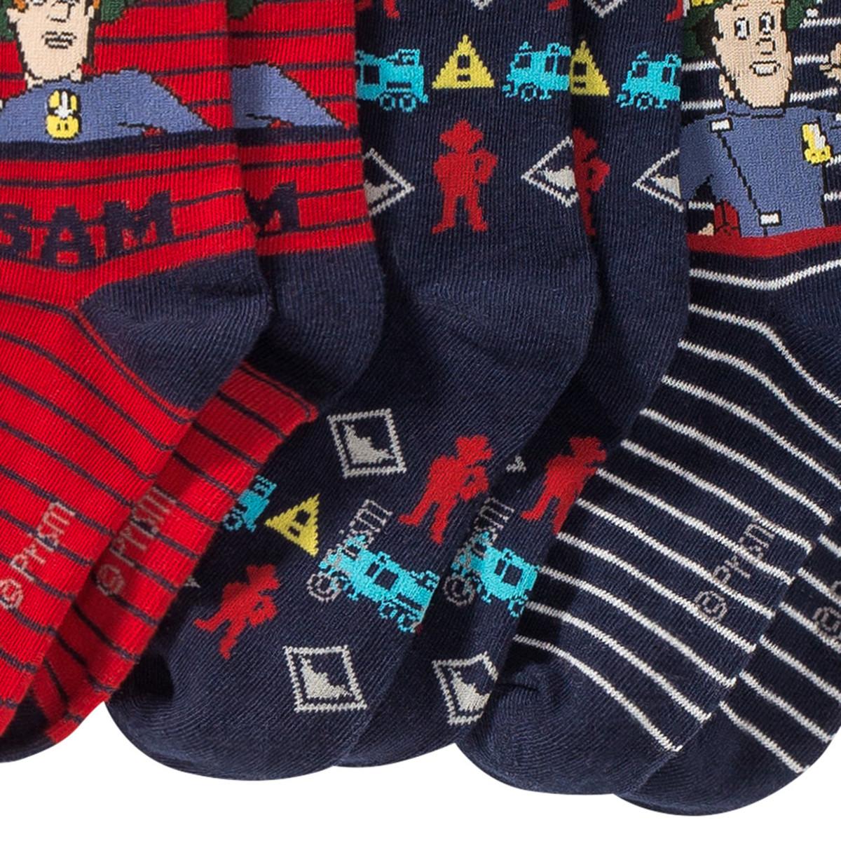 Bild 3 von 3 Paar Feuerwehrmann Sam Socken
