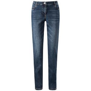 Damen Slim-Jeans mit Teilungsnähten
