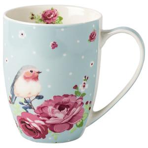 Tasse mit Rosendekor