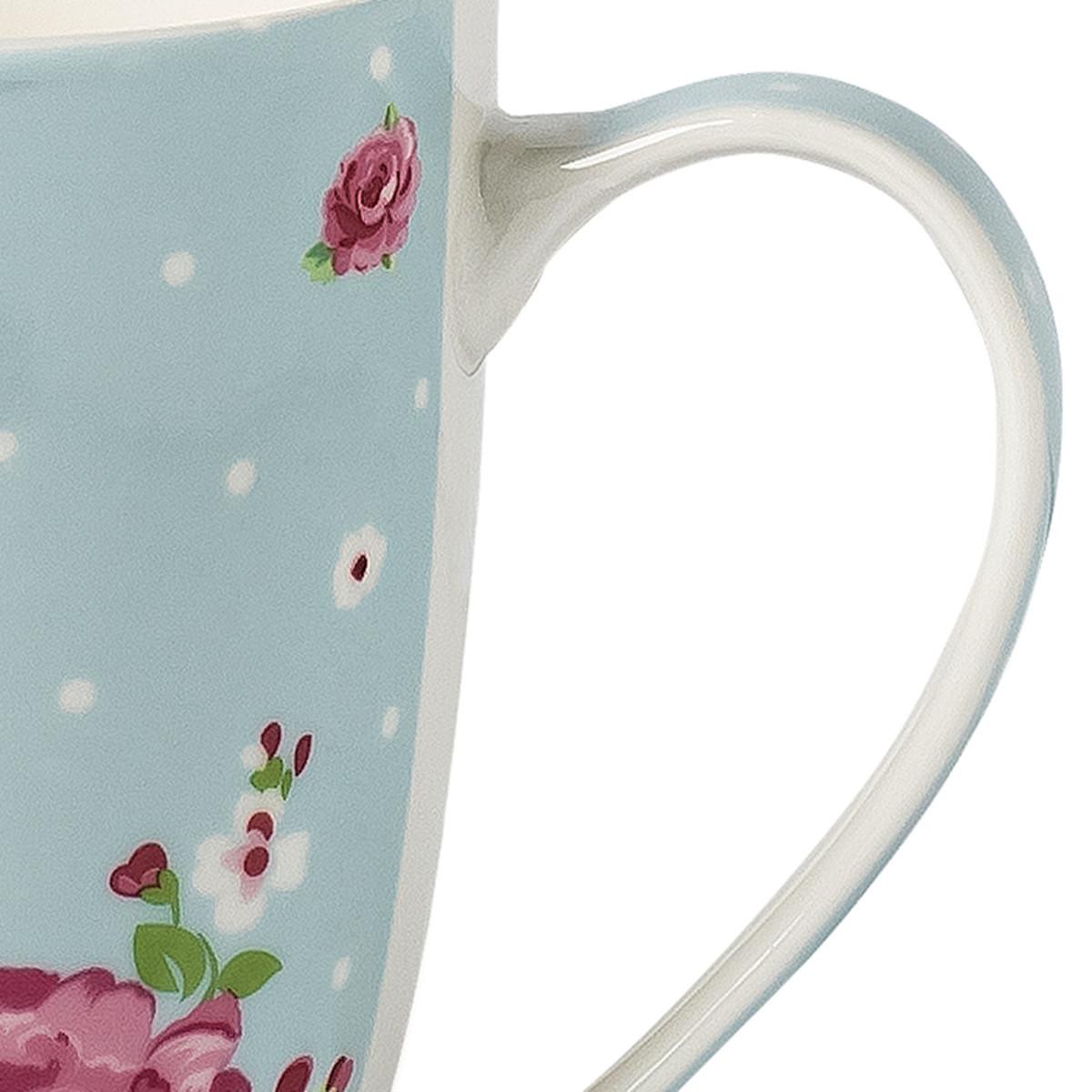 Bild 3 von Tasse mit Rosendekor