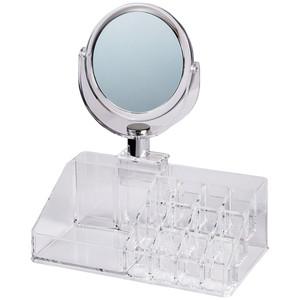 Spiegel mit Kosmetik-Organiser