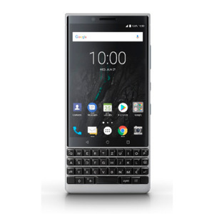 BlackBerry KEY2 silver 6/64GB Android 8.1 Smartphone mit innovativer Tastatur