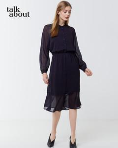 talkabout - Chiffon-Kleid mit Tupfenprint