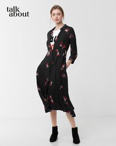 talkabout - Hemdblusenkleid mit Blütendruck