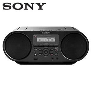 Bluetooth®-Stereo-CD/MP3-Boombox ZS-RS60BT • ID3-Titelanzeige • 2-Band-Tuner • NFC-Funktion, Audio-In, USB-Anschluss • Netz- oder Batteriebetrieb