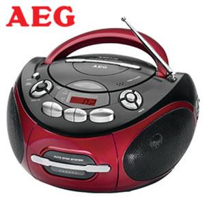 Stereo-CD-Radio SR 4353 • CD-Player, MP3, Kassettenplayer, 2-Band-Tuner, Aux-In • Netz- oder Batteriebetrieb