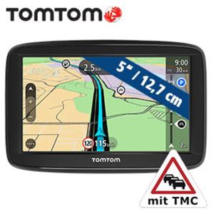 Navigationssystem Start 52 Europe · Fahrspurassistent · KFZ-Halterung **weitere Infos unter http://www.tomtom.com/de_de/maps/lifetime-maps/