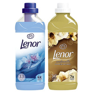 Lenor Weichspüler 30/33 Waschladungen, versch. Sorten, jede Flasche