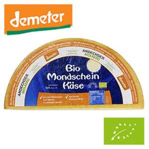 Demeter Bio Mondscheinkäse Österreichischer Bio Schnittkäse, mind. 50% Fett i. Tr., je 100g