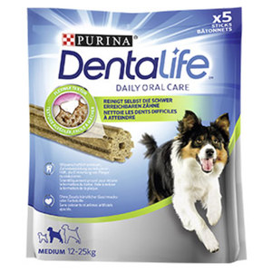 Purina Dentalife oder Adventuros Hunde-Snacks versch. Sorten, jede 90/115/142-g-Packung
