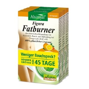 Alsiroyal  Figura Fatburner 3er-Pack 3 x 30 Kapseln