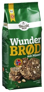 Bauckhof Bio Wunderbrod mit Nüssen 600 g
