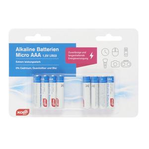 Kodi Basic Batterien Micro (AAA) LR3