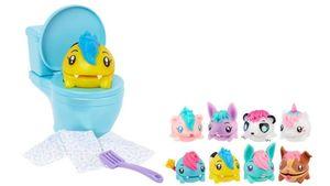 Mattel - Pooparoos - Toilettenset mit verschiedenen Überraschungen