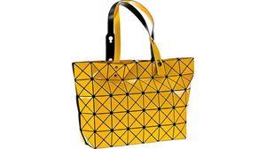 Tasche Dreiecksdesign gelb
