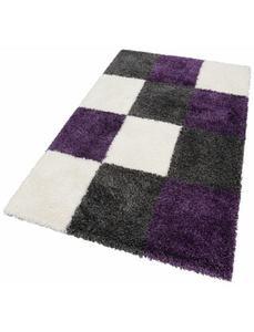 Hochflor-Teppich, »Denton«, merinos, rechteckig, Höhe 50 mm, maschinell gewebt
