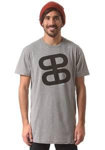 Planet Sports Icon Logo Teamfit - T-Shirt für Herren - Grau