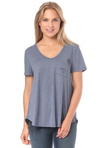 Rip Curl First Light Pocket - T-Shirt für Damen - Blau