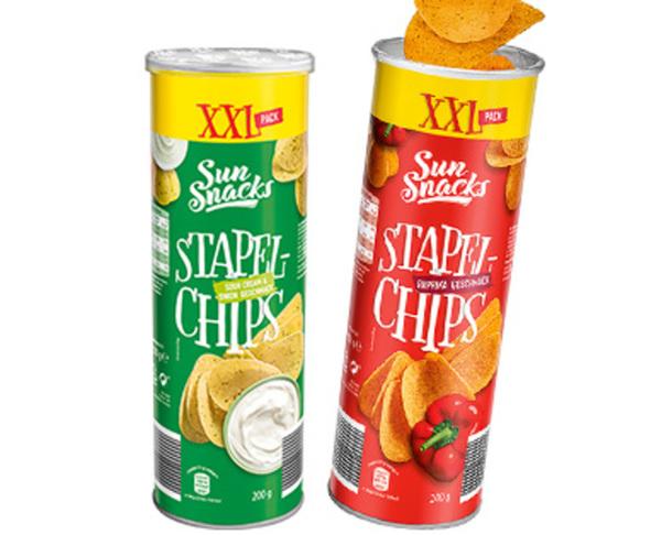 Sun Snacks Stapelchips XXL