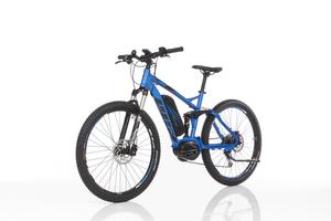 FISCHER Mountain E-Bike Fully EM 1862 MM, 9GG XT, 27,5 Zoll, Blau-matt