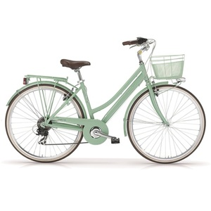 MBM Trekkingbike New Boulevard Woman 28 inkl. Korb Mint - Rahmenhöhe: 46 cm