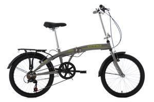 Faltrad 20'' Cityfold grau RH 27 cm KS Cycling