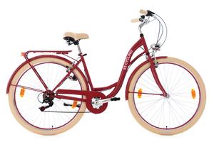 Damenfahrrad 28'' Balloon rot RH 48 cm KS Cycling