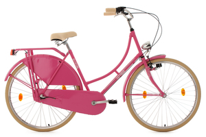 Hollandrad 28'' Tussaud pink 3 Gänge RH 54 cm KS Cycling