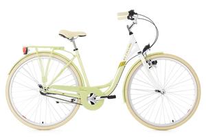 Damenfahrrad 28'' Belluno grün 3 Gänge RH 48 cm KS Cycling