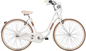 28 Zoll Damen Holland Fahrrad 3 Gang Adriatica Danish Nexus, Farbe:weiß