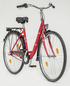 Zündapp Citybike Red 1.0, 26er, Damen