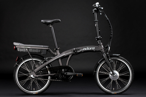 KS Cycling Pedelec E-Bike Faltrad 20'' Adore Zero - Grau - Rahmengröße: 35 cm