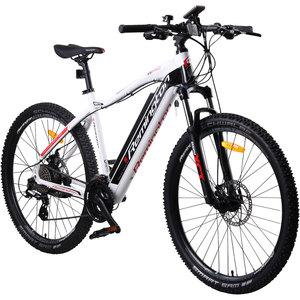 Remington Rear Drive MTB E-bike Mountainbike Pedelec 27,5 Zoll, Farbe:Weiss
