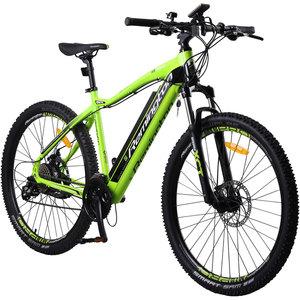 Remington Rear Drive MTB E-bike Mountainbike Pedelec 27,5 Zoll, Farbe:Grün