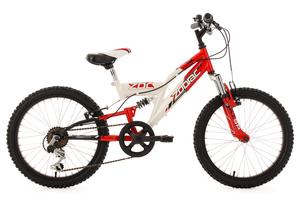 Kinderfahrrad 20'' Zodiac weiß-rot RH 31 cm KS Cycling